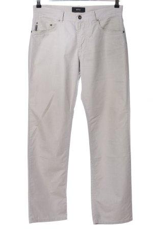 Brax Pantalón de cinco bolsillos gris claro look casual