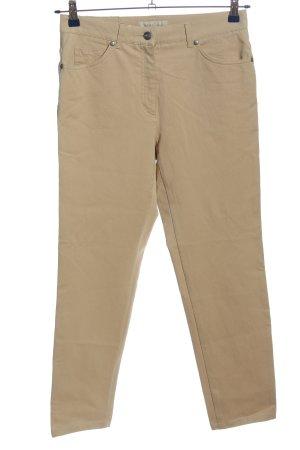 Brax Pantalone cinque tasche crema stile casual