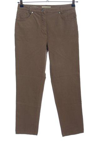 Brax Pantalone cinque tasche marrone stile casual