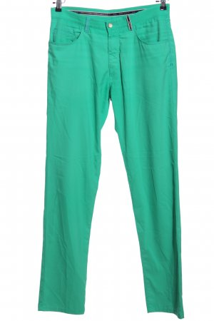 Brax Five-Pocket Trousers green casual look