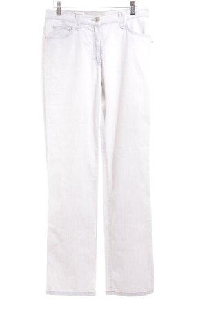 Brax Five-Pocket-Hose hellgrau schlichter Stil