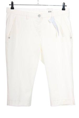 brax golf Pantalon 3/4 blanc style décontracté