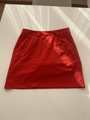brax golf Jupe taille haute rouge