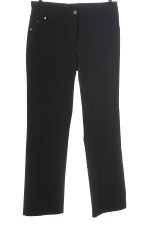 brax golf Pantalon en jersey noir style décontracté