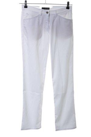 Brax Stretch broek wit casual uitstraling