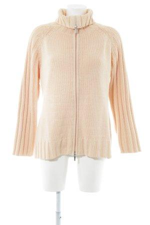Brax Veste tricotée en grosses mailles rose chair style décontracté