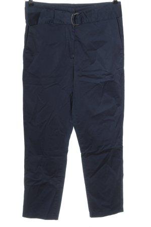 Brax High-Waist Hose blau Casual-Look