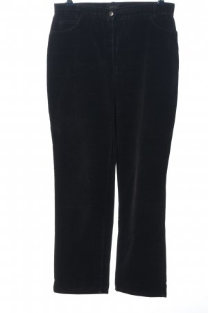 Brax High Waist Trousers black casual look