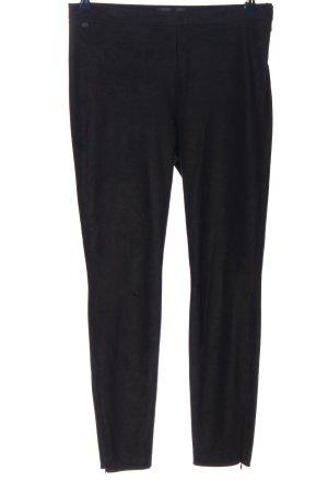 Brax Spodnie z wysokim stanem czarny W stylu casual