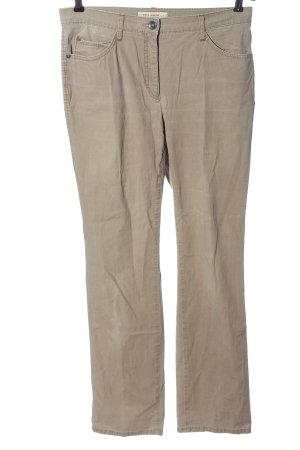 Brax Spodnie z wysokim stanem w kolorze białej wełny W stylu casual