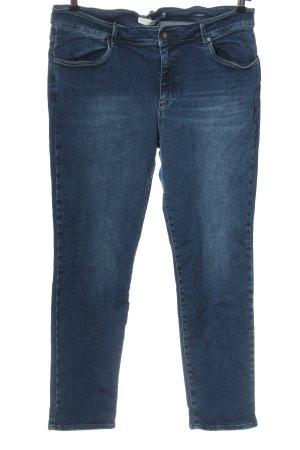 Brax Jeans taille haute bleu style décontracté