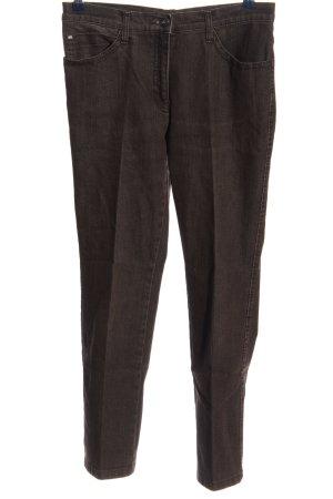 Brax High Waist Jeans schwarz meliert Casual-Look