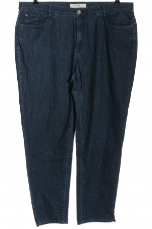 Brax Hoge taille jeans blauw casual uitstraling