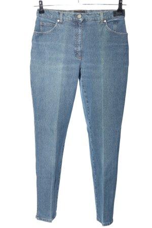Brax Jeansy z wysokim stanem niebieski W stylu casual