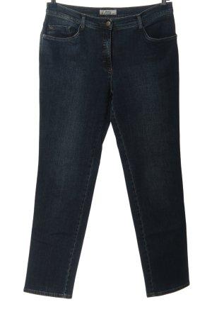 Brax Jeans a vita alta blu stile casual