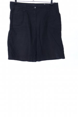 Brax High waist short zwart casual uitstraling