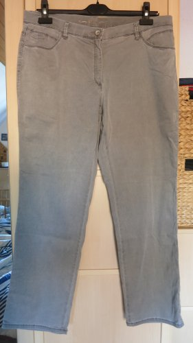 Brax Pantalon en jersey gris clair