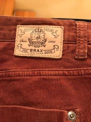 Brax Pantalon en velours côtelé cognac
