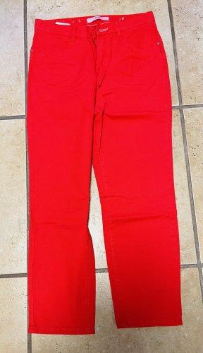 Brax Pantalón anchos rojo