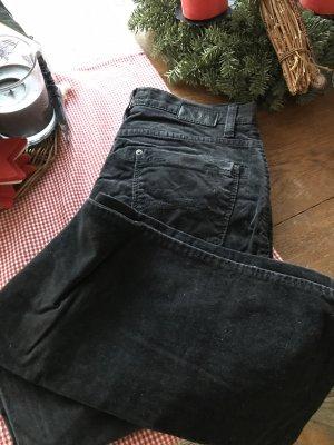 Brax Pantalón de pana negro