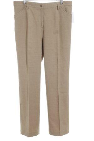 Brax Tailleur-pantalon marron clair style d'affaires