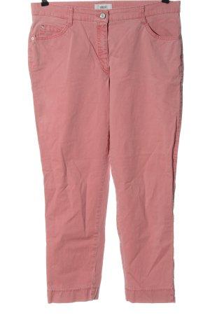 Brax Pantalone a vita bassa rosa stile casual