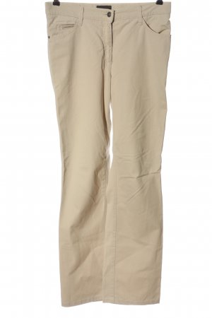 Brax Pantalone a vita bassa bianco sporco stile casual