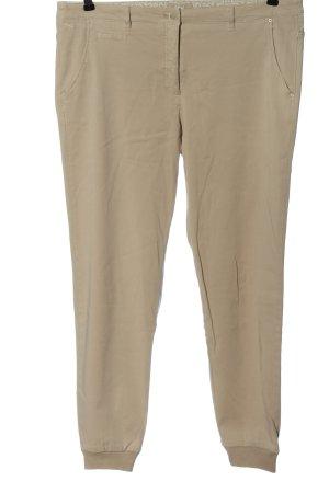 Brax Pantalone a vita bassa crema stile casual