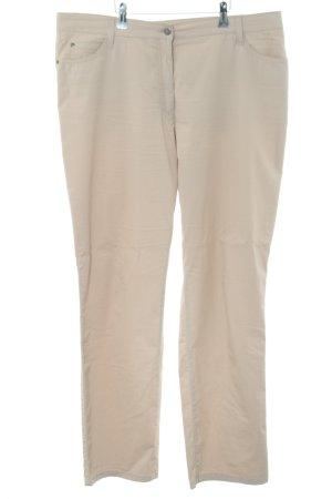 Brax Hüfthose beige Business-Look