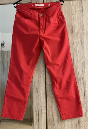 Brax 7/8 Length Jeans red