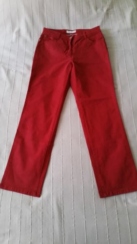Brax Jeansy ze stretchu czerwony-ceglasty