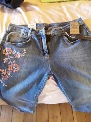 Brax Jeans met rechte pijpen blauw