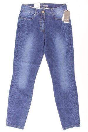 Brax Spijkerbroek blauw-neon blauw-donkerblauw-azuur Katoen