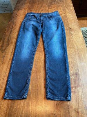 Brax Jeans boyfriend bleu coton