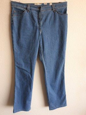 Brax Jeans coupe-droite bleu coton