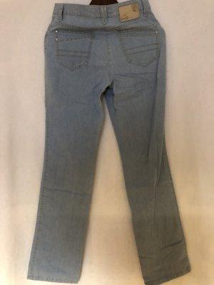Brax Slim jeans azuur Katoen