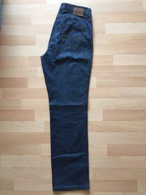 Brax Marlene Denim blue cotton