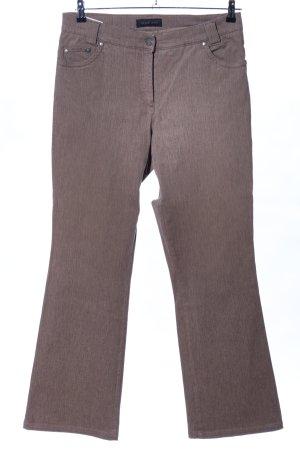 Brax Jeansschlaghose braun Casual-Look