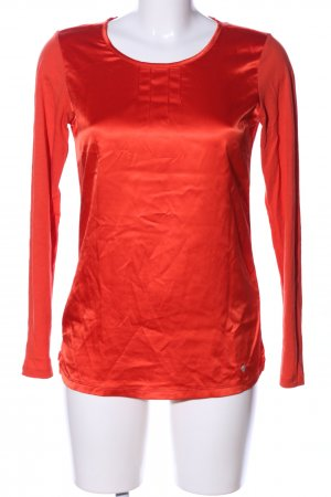 Brax Langarm-Bluse rot Casual-Look