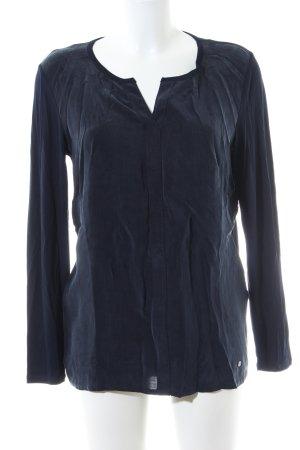Brax Langarm-Bluse schwarz Casual-Look