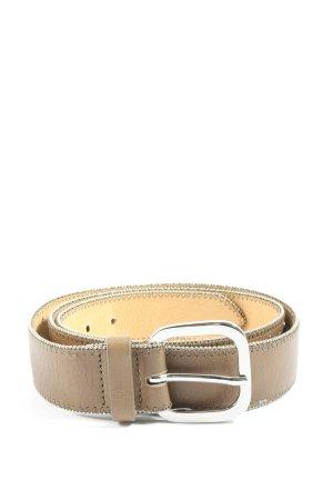 Brax Skórzany pasek brązowy W stylu casual