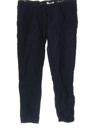 Brax Lniane spodnie niebieski W stylu casual