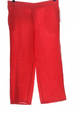 Brax Linnen broek rood casual uitstraling