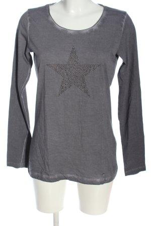 Brax Koszulka z długim rękawem jasnoszary W stylu casual