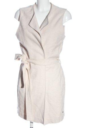 Brax Cardigan lungo smanicato bianco sporco modello web stile casual
