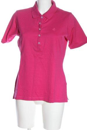 Brax Koszulka polo różowy Elegancki