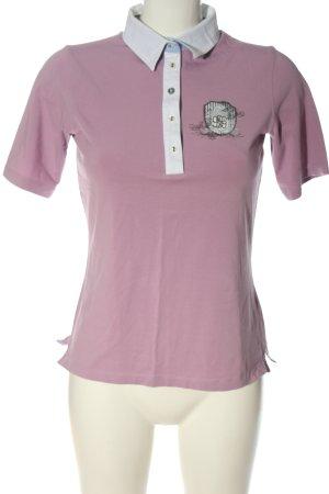Brax Polo rosa stile casual