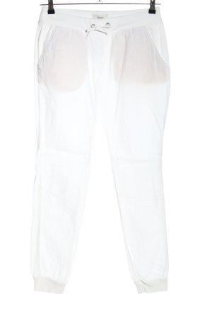 Brax Pantalon large blanc style décontracté