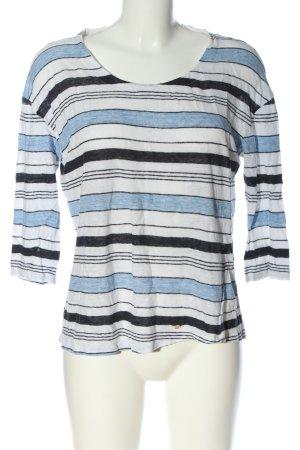 Brax Koszulka w paski Wzór w paski W stylu casual