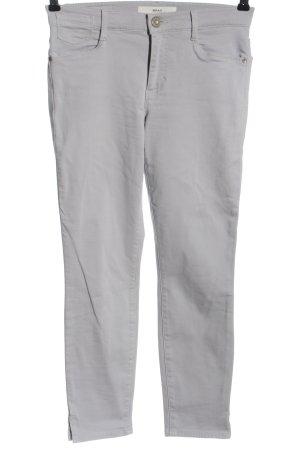 Brax Pantalon cigarette gris clair style décontracté